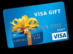 WIN A $300 Visa Gift Card