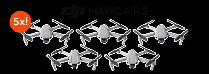 You Could WIN 1 of 5 DJI Mavic Air 2 Drones!
