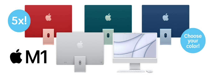 "Apple M1 24"" iMac"