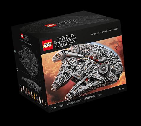 Lego Star Wars Millennium Falcons