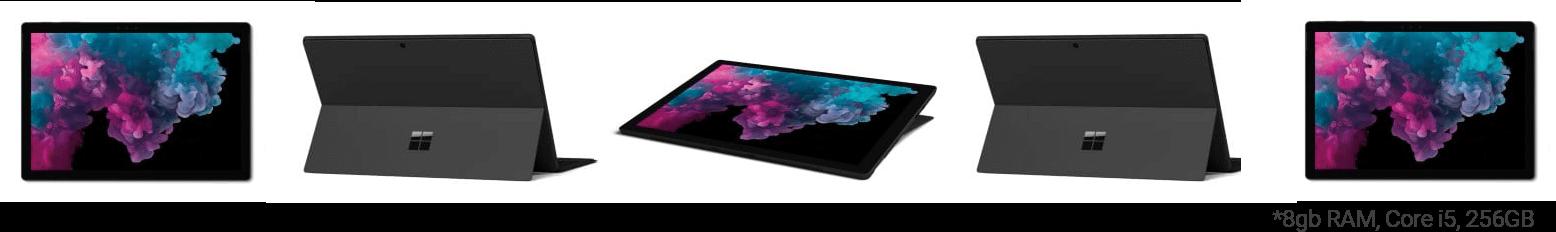 Microsoft Surface Pro 6 in Black