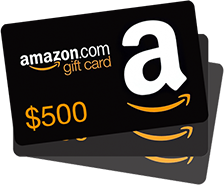 WIN 1 of 3 $100 Amazon Gift Cards