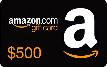 $500 Amazon.com Gift Card