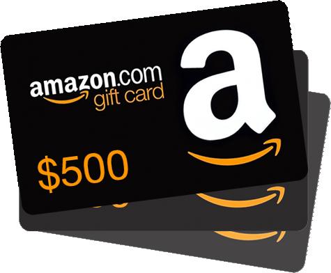 WIN a $500 Amazon Gift Card