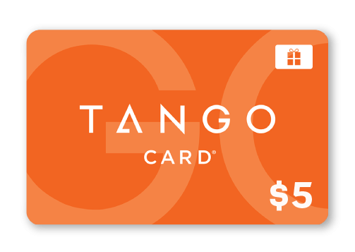 Tango gift card