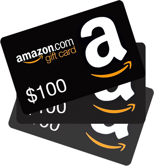 WIN 1 of 3 $100 Amazon Gift Card