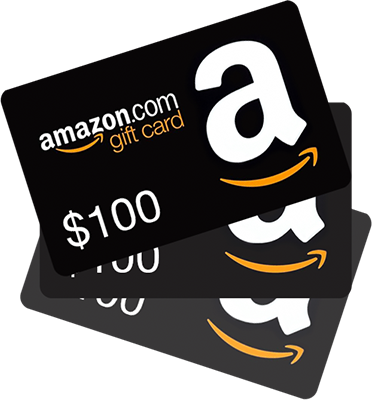 WIN 1 of 3 $100 Amazon Gift Card