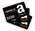 3x $100 Amazon Gift Cards