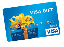 WIN A $300 Visa Gift Card